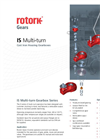 Rotork - IS Series - Multi-Turn Cast Iron Housing Gearboxes - Brochure