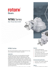 Rotork - Model NTBG Series - Non-Thrust Bevel Gost Standard - Brochure