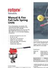 Rotork Valvekits - Manual & Fire Fail-Safe Spring Units - Brochure