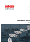 Rotork - 1500,1600,1650 Series - Spool Valves and Accessories - Brochure