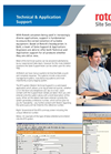 Technical & Application Support - Brochure