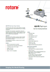 Rotork - Model AB Range - Quarter-Turn Operators Valve Brochure