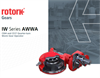 Rotork - Model IW - AWWA C504 and C517 - Part-turn Worm Gear Brochure