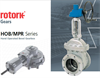 Rotork - Model HOB/MPR Range - Hand Operated Bevel Gears  Brochure
