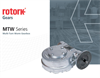 Rotork - Model MTW Range - Multi-Turn Worm Gearboxes Brochure