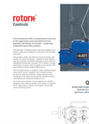 Rotork - Model Q - Electro Mechanical Part Turn Actuator Brochure