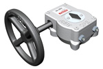 Rotork - Model 242P Range - Nuclear Rated Quarter-Turn Manual Worm Gear Operators