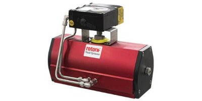 Rotork - Model RC200/RCI200 Range - Extremely Compact Pneumatic Actuator