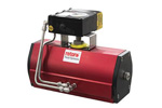Rotork - Model RC200/RCI200 Range - Compact Pneumatic Actuator