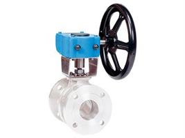 Rotork - Model AB Range - Heavy-duty Quarter-turn worm gear operators