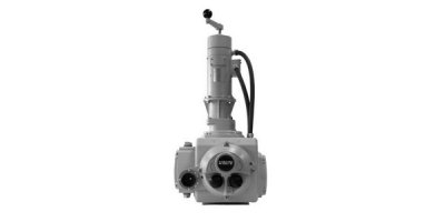 Rotork - Model SM-6000 Range - Combustion Air and Flue Gas Electric Rotary Actuators
