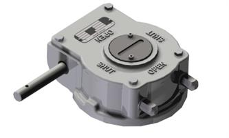 Rotork - Model AB-SS Range - Quarter Turn Stainless Steel Gearbox