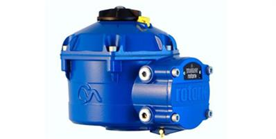 Rotork - Model CVA Range - Linear and Quarter-turn Actuators to Automate Control Valves
