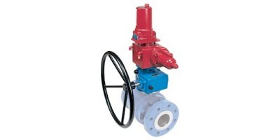 Rotork - Model ILG-D Range - Override Quarter-Turn Gearboxes