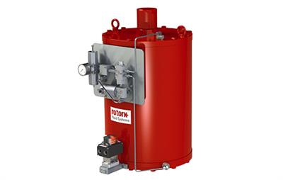 Rotork - Model CQ Range - Fully-Concentric And Balanced Actuator