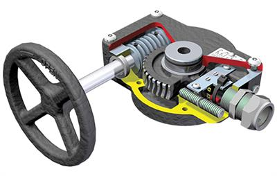 Rotork - Model FB Range - Worm Gears Operators