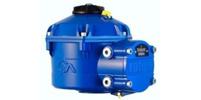Rotork - Model CVQ - Quarter-Turn, Electric Process Control Actuator
