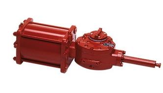 Rotork - Model P/H Ranges - Pneumatic and Hydraulic Actuators