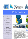 Andela - Model GP1-HD - Glass Pulverizer System Brochure