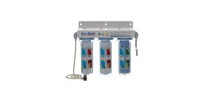 So~Safe - Model TWFC10R - Triple Wall Mounting Water Purifier