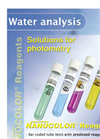 Water Analysis - Reagents for Photometry Flyer