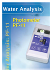 Water Analysis - PF-11 Flyer