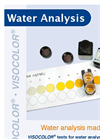 Water Analysis Products Catalog