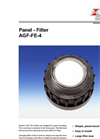 Bühler - Model AGF-FE-4 - Panel Filter - Datasheet