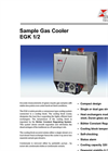 Bühler - Model EGK 1/2 - Sample Gas Cooler - Datasheet
