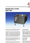 Bühler - Model EGK 1SD - Sample Gas Cooler - Datasheet