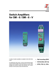 SM-6 / SM-6-V - Switch Amplifiers Datasheet