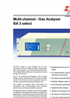 BA 3 - Multi-Channel - Gas Analyser Select Datasheet