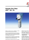 Bühler - Model AGF-VA-23 - Fine Mesh Filter – Brochure
