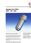 Bühler - Model AGF-VA-350 - Fine Mesh Filter – Brochure