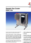 Bühler - Model EGK 2A Ex - Sample Gas Cooler – Brochure