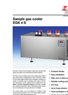 Bühler - Model EGK 4S - Sample Gas Cooler – Brochure