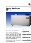 Bühler - Model EGK 10 - Sample Gas Cooler – Brochure