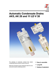Bühler - Model AK5, AK20 and 11 LD V 38 - Automatic Condensate Drains – Datasheet