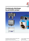 Condensate Discharge By Peristaltic Pumps – Brochure