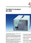 BA 4000 - Portable O2-Analyzer – Brochure