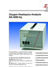 BA4000 lnj - Oxygen Headspace Analysis – Brochure