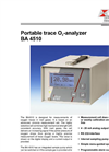 BA 4510 - Portable Trace O2-Analyzer – Brochure