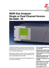 BA 6000 IR NDIR Gas Analyzer Single or Dual Channel Version – Brochure