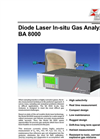 BA 8000 - Diode Laser In-Situ Gas Analyzer – Brochure