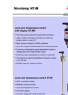 Nivotemp - Model NT-M/NT-MD - Level And Temperature Switch - Datasheet