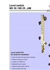 NS10–NS25..AM - Level switch – Brochure
