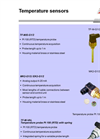 TF-M–E-G1–2 - Temperature Sensors – Brochure