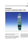 Controllers for Level- / Temperature Switch - Atex Brochure