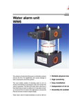WW6 Series - Water Alarm Unit Brochure