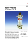 WW3 and WW10 Series - Water Alarm Unit Brochure